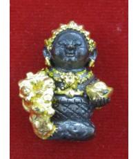 กุมารีดูดทรัพย์รับเงิน เนื้อสัมฤทธิ์ปิดทอง ครูบาสุบิน