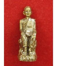 รูปหล่อหลวงปู่เทพโลกอุดร หลวงพ่อสังข์ทอง วัดศรีสง่า