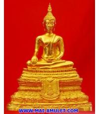 สมเด็จพระศาสดา 9 นิ้ว วัดบวรฯ หลังตราสัญลักษณ์ครองราชย์ครบ 50 ปี ปี 39 ปิดทองสวยครับ