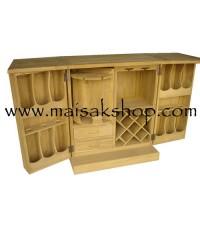 เฟอร์นิเจอร์ไม้สัก(Furniture) ตู้บาร์เหล้าไม้สัก