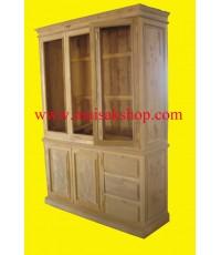 เฟอร์นิเจอร์ไม้สัก(Furniture)  ตู้,ตู้เสื้อผ้าไม้,   ตู้เสื้อผ้าไม้สัก 009