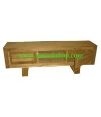 เฟอร์นิเจอร์ไม้สัก (Furniture) ตู้,ตู้โชว์, ตู้โชว์ไม้สักหรือชั้นวางทีวี040