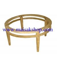 เฟอร์นิเจอร์ไม้สัก(Furniture)  โต๊ะกลางชุดรับแขกไม้สักทรงกลมแบบทรงกลม