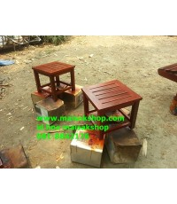 เฟอร์นิเจอร์ไม้สัก(Furniture) โต๊ะกลาง เตียงสระน้ำไม้สัก.เตียงสนามไม้สัก2
