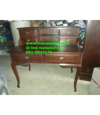 เฟอร์นิเจอร์ไม้สัก(Furniture)  โต๊ะทำงานไม้สักขานก
