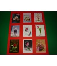 ภาพโปสการ์ดบัตรอวยพร ชุด ภาพดอกไม้