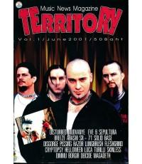 Music News Magazine TERRITORY Vol.1/June 2001