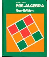 PRE-ALGEBRA New Edition  (หนังสือไม่มีแล้ว)