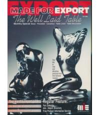 แค็ตตาล็อกสินค้า MADE FOR EXPORT General Merchandise January 1996