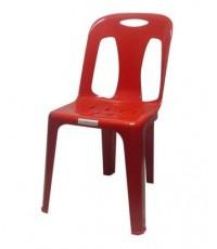 MD8-010 เก้าอี้พลาสติกมีพนักพิง เกรด A No.152