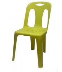 MD8-011 เก้าอี้พลาสติกมีพนักพิง เกรด A(รุ่นหนาพิเศษ) No.154