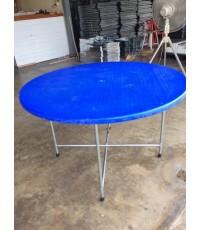 MD7-003 โต๊ะพับหน้ากลม (โต๊ะจีน)