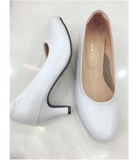 รองเท้าขาว รองเท้ารับปริญญา คัทชูสีขาว249