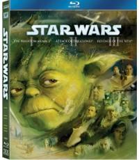 Star Wars Trilogy Prequel (3 Disc) สตาร์ วอร์ส ทริโลจี้ พรีเควล Blu-ray