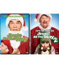 Jungle All The Way 1+2 Double Pack/คุณพ่อต้นแบบ 1+2 แพ็คคู่ DVD