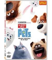 S16026D+V The Secret Life Of Pets Character Notebook เรื่องลับแก๊งขนฟู + สมุดโน๊ต