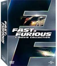 S15821D Fast  Furious Movie Collection (1-7)/เร็ว...แรงทะลุนรก มูฟวี่คอลเลคชั่น 1-7 DVD