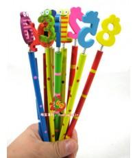 ของเล่นเด็ก  ดินสอตัวเลข ของเล่นเสริมทักษะ ของเล่นเสริมพัฒนาการ