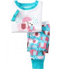 ชุดนอน Baby Gap แขนสั้นขายาว ลายช้างคู่กางร่ม ชุดเด็ก Baby Gap