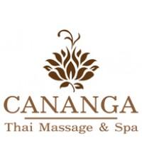 แบบโลโก้ CANANGA Thai Massage  Spa
