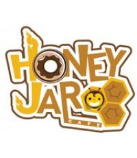 แบบโลโก้ Honey Jar Cafe