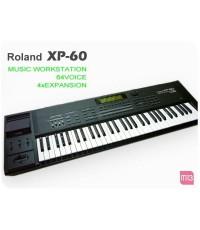 ROLAND XP-60 WORKSTATION  64 VOICE  4xEXPANSION สินค้าคุณภาพครับ