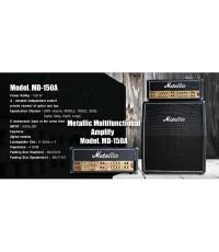 Metalic MD-150A แอมป์กีต้าร์ หัวเทริน 12นิ้ว 4ดอก 150watt