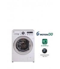 เครื่องซักผ้าฝาหน้า WD-12090TD ระบบ 6 Motion Hand Wash ขนาดซัก 8 KG , 1200 RPM