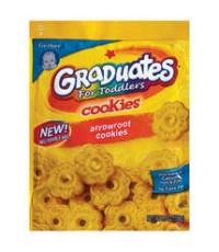 Gerber Graduates Cookies: Arrowroot, 5.5 oz