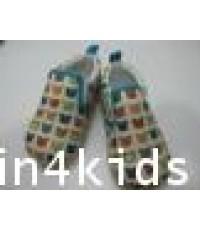 SCV-01 รองเท้าเด็ก Canvas เทรนด์เกาหลี ลาย jolly bear