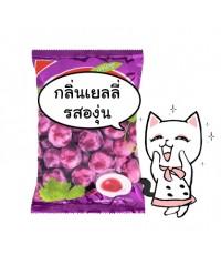 GJ100 กลิ่นองุ่นเจลลี่ 100 g. Grape Jelly Flavor