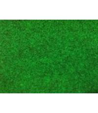 พรมอัดเรียบ สีเขียวดำ  พรมหนา 2.55 mm. ขนาดยกม้วน 1.5m.x25m.