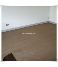พรมอัด สีเบสทราย (ครีมปนดำ) พรมหนา 2.55 mm. ขนาดยกม้วน 1.5m.x25m.