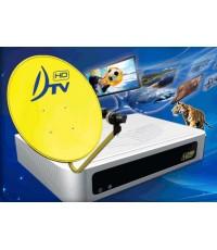 ชุดรับสัญญาณดาวเทียม DTV รุ่น DTV-HD1