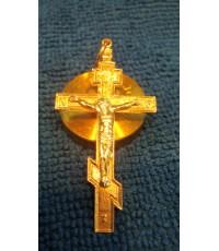 จี้ไม้กางเขนพระเยซูทอง 14 k