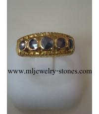 แหวนเพชรซีกโบราณ