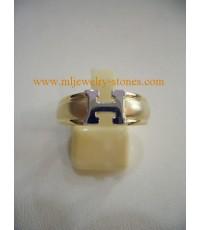 แหวนทองตัวอักษร H