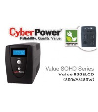 UPS CyberPower Value800 ELCD-AS