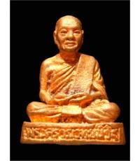 รูปหล่อหลวงพ่อสนิท เสาร์5 ปี36 เนื้อทองแดง