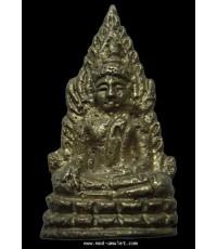 รูปหล่อพระพุทธชินราชอินโดจีน 2485 สวยแชมป์ ไม่มีโค้ด