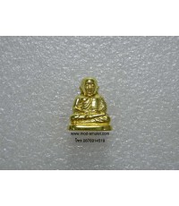 หลวงพ่อเงินลอยองค์๑๕ พิมพ์นิยม เนื้อทองเหลือง วัดหิรัญญาราม(วัดบางคลาน) 3