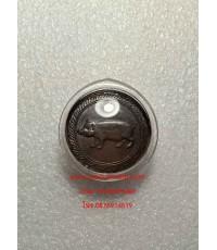 เหรียญนามปีกุลรุ่นแรกปี32นิยมเลข๕มีขีดบนล่าง(บล๊อคทองคำ)นิยมสุด