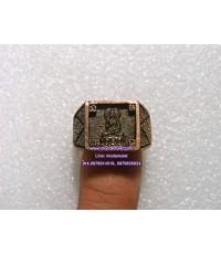 แหวนพระประทานพร เนื้อนวะโลหะ ปี2540 วัดสะแก