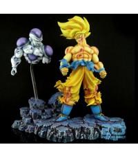 Goku vs Freeza Final Battle Resin Statue