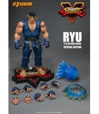 Street Fighter V - Ryu Action Figure (Blue ver)