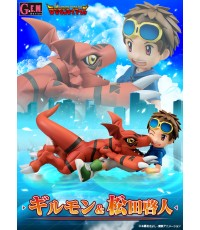 DIGIMON TAMERS - G.E.M.SERIES MATSUDA TAKATO  GUILMON - LIMITED EDITION