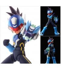 4 Inch Nel - Mega Man Star Force Shooting Star Mega Man