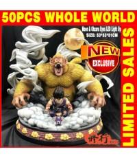 Dragon Ball DJ GOKU and Ohzura resin statue