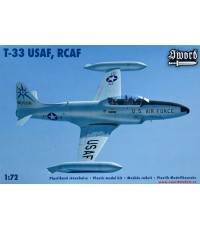 Lockheed T-33 Shooting Star (USAF,RCAF) 1/72 Sword