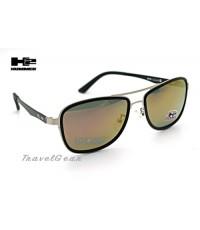 แว่นกันแดด HUMMER Polarized รุ่น HM66030 เคลือบปรอทชมพู